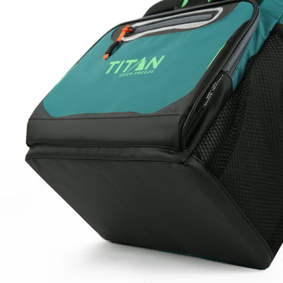 Titan Deep Freeze® 16 Can Zipperless™ HardBody® Cooler - Pine - Bottom