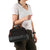 Arctic Zone® Canvas Lunch Tote - Black - Model, carry