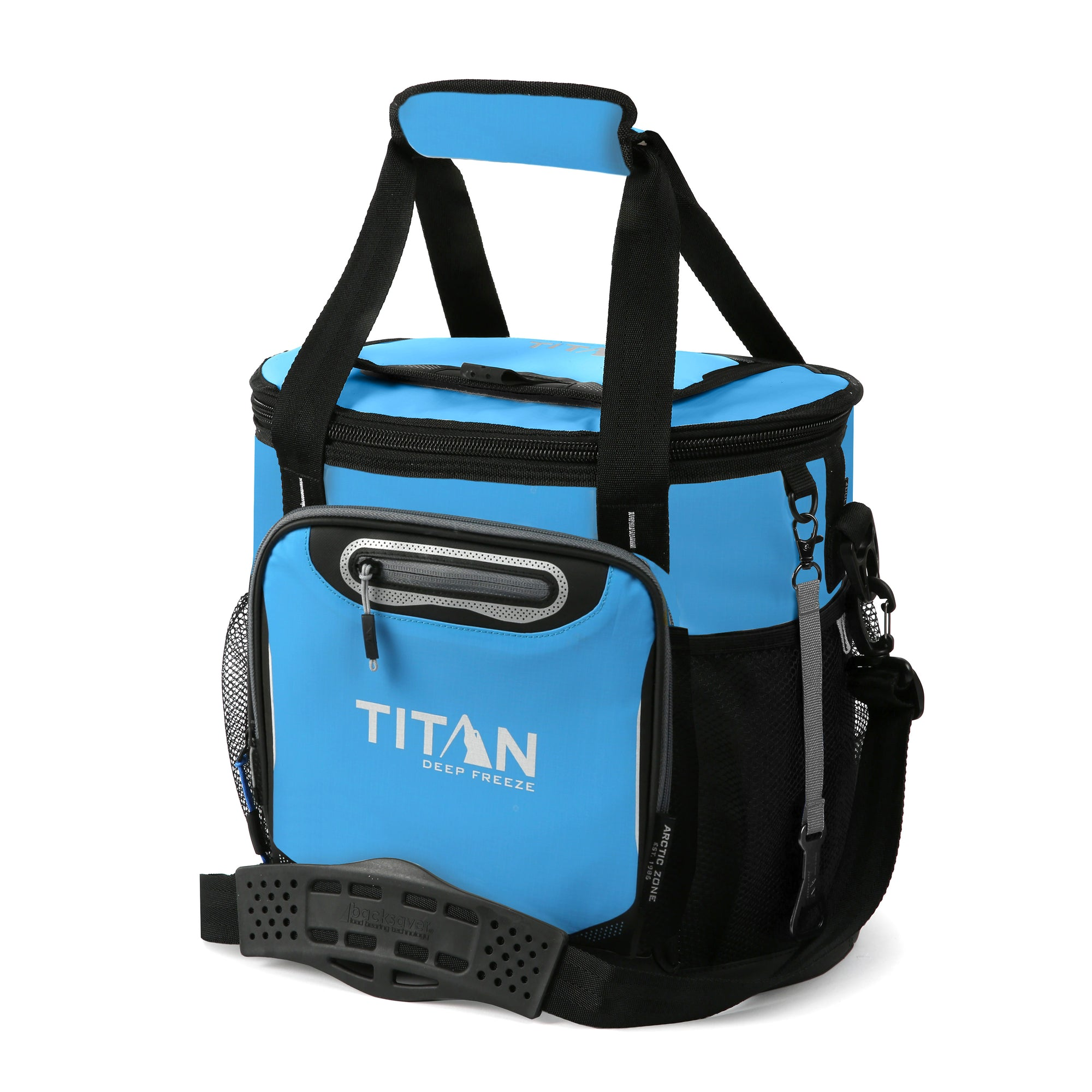 Titan Deep Freeze 24 Can Bucket Tote - Blue