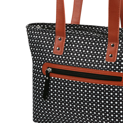 Arctic Zone® Bennet Tote - Dot Strike - Zippered front pocket