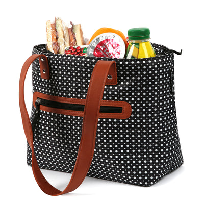Arctic Zone® Bennet Tote - Dot Strike - Open, propped