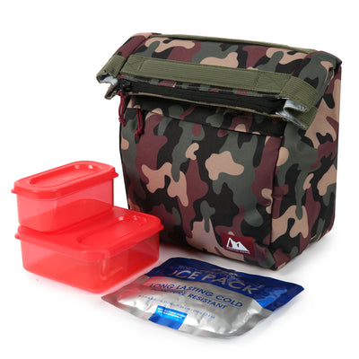 Arctic Zone® Kids Classics Lunch Sack - Camo - Lunch box with ice pack and containers