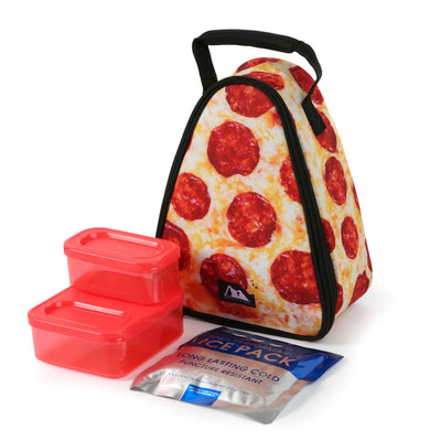 Arctic Zone® Pizza Lunch Pack - With Ice pack and containers