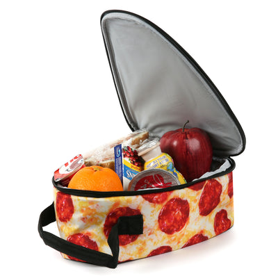 Arctic Zone® Pizza Lunch Pack - Open, propped