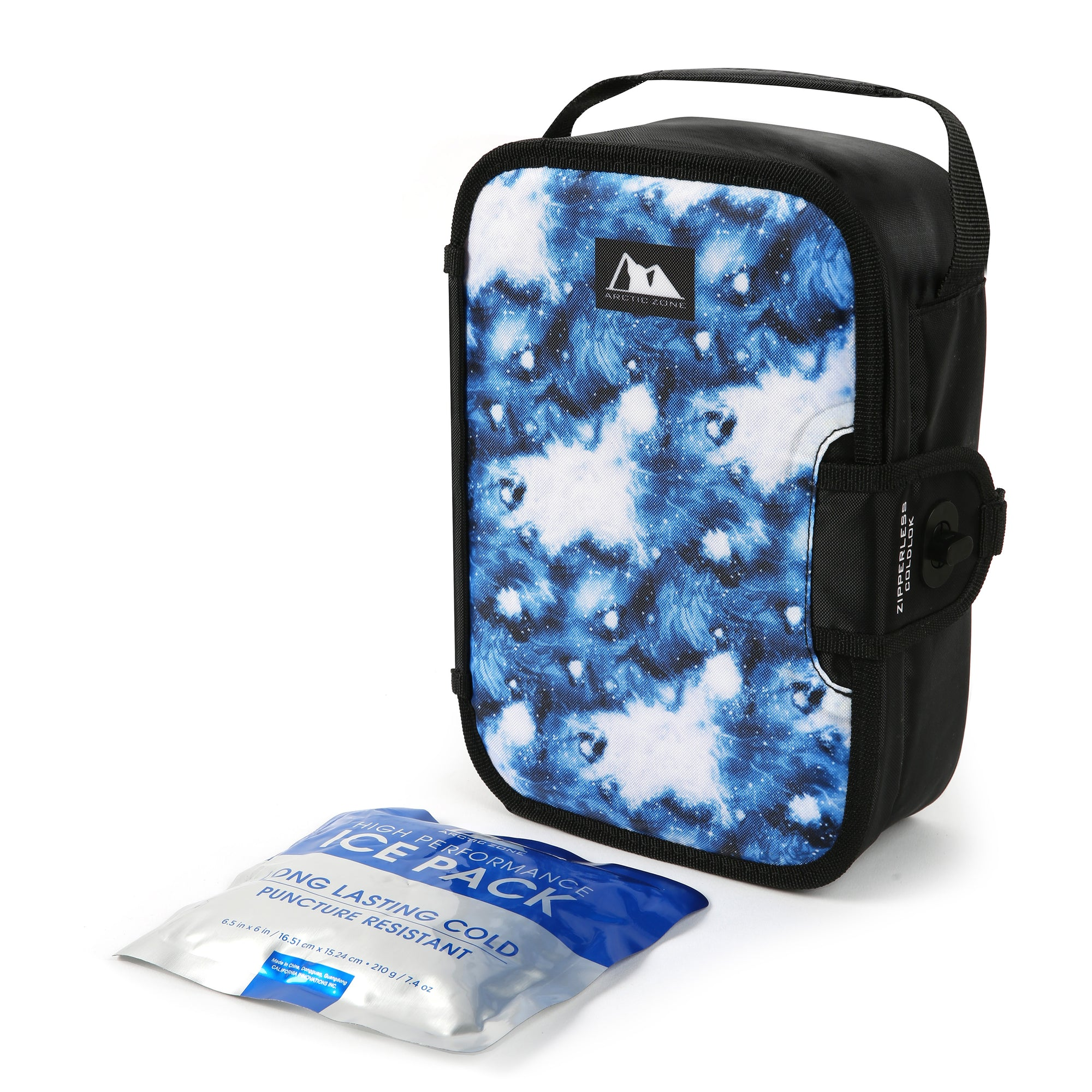 Arctic Zone® Kids Graphic Zipperless - Galaxy - Lunch box with ice pack