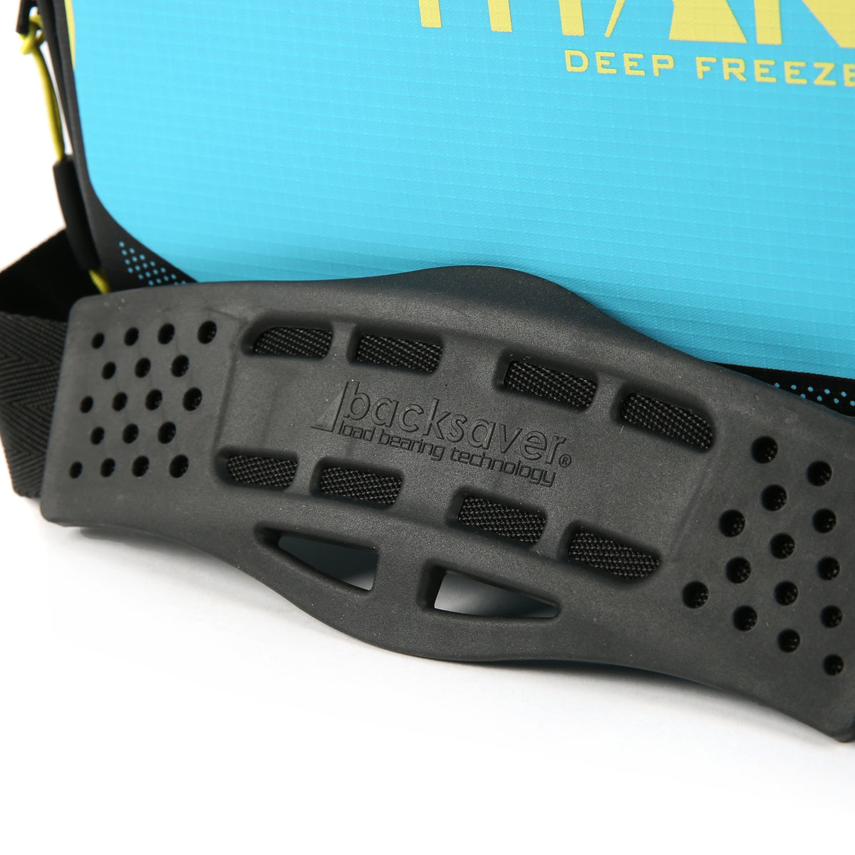 Titan Deep Freeze® 16 Can Zipperless™ HardBody® Cooler - Blue Lagoon - Backsaver anti-slip shoulder pad