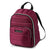 Arctic Zone® Quilted Cooler Backpack - Red Violet - Front, closed