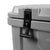 Titan Deep Freeze® 55Q Premium Ice Chest - Gray - Latches