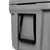 Titan Deep Freeze® 55Q Premium Ice Chest - Gray - Carry handle