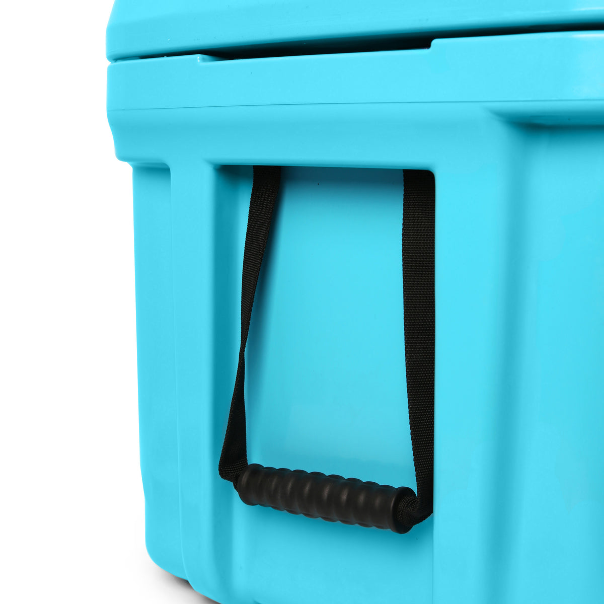 Titan Deep Freeze® 55Q Premium Ice Chest - Blue - Carry handles