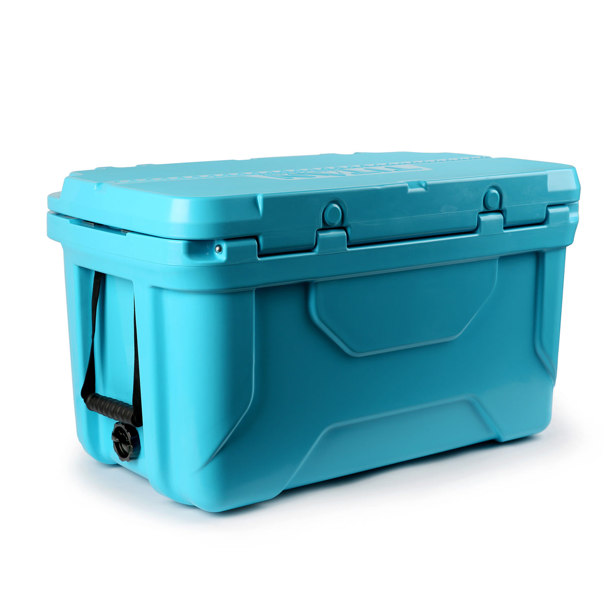 Titan Deep Freeze® 55Q Premium Ice Chest - Blue - Back