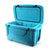 Titan Deep Freeze® 55Q Premium Ice Chest - Blue - Open, empty