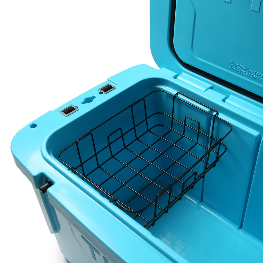 Titan Deep Freeze® 55Q High Performance Cooler - inside basket