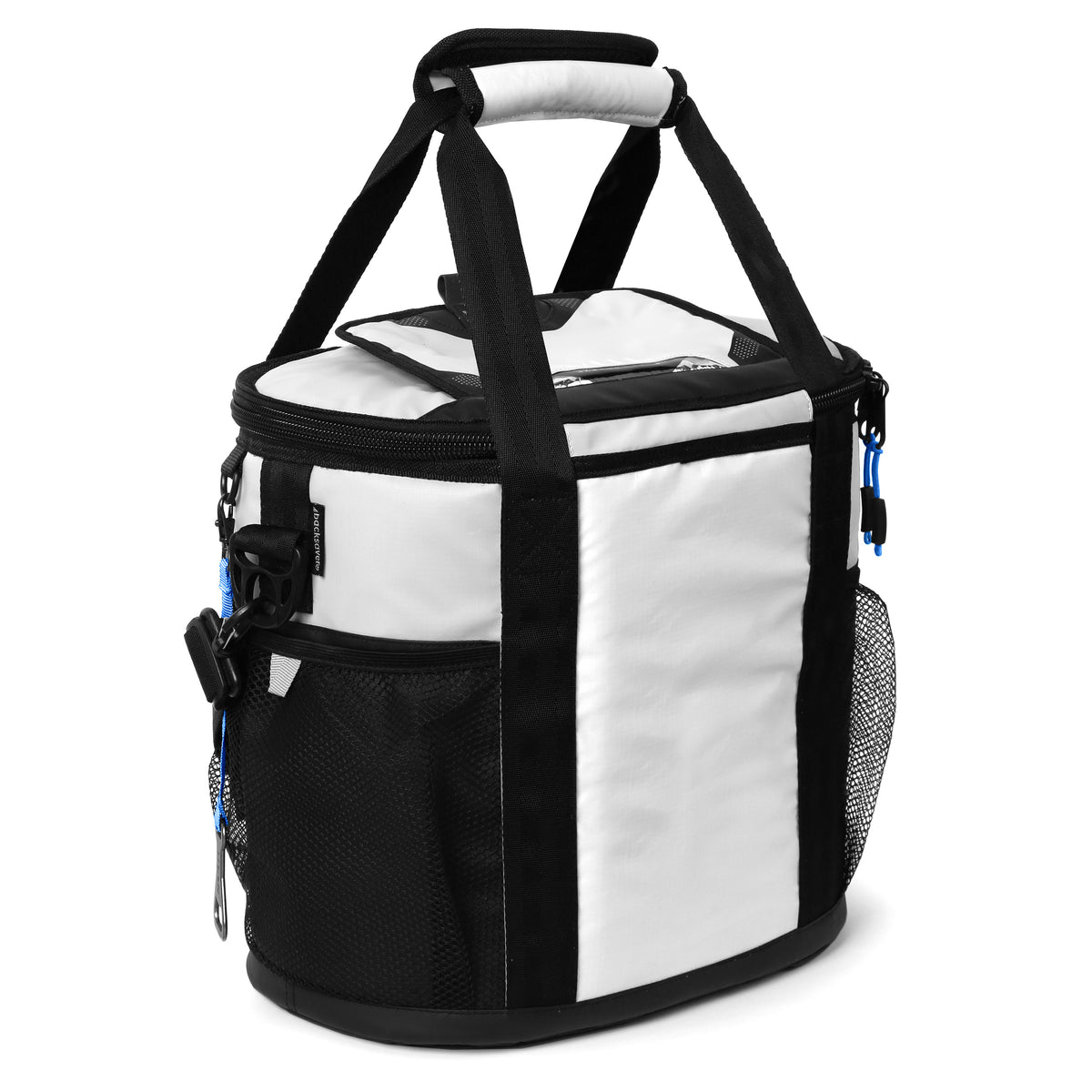 Titan Deep Freeze® 24 Can Bucket Tote - White - Back