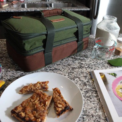 Arctic Zone® Food Pro Expandable Thermal Carrier - Green - Lifestyle, saving some pie for later