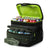 Arctic Zone® 16 (12+4) Can Ultimate Zipperless™ HardBody® Cooler - Green - Open, propped