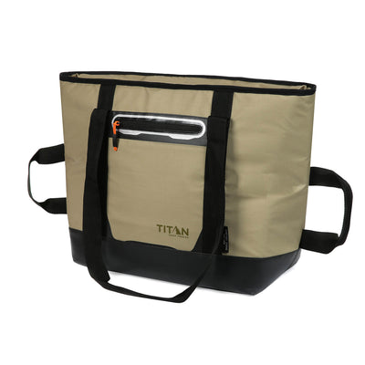 Titan Deep Freeze® 30 Can Insulated Tote - Front, closed