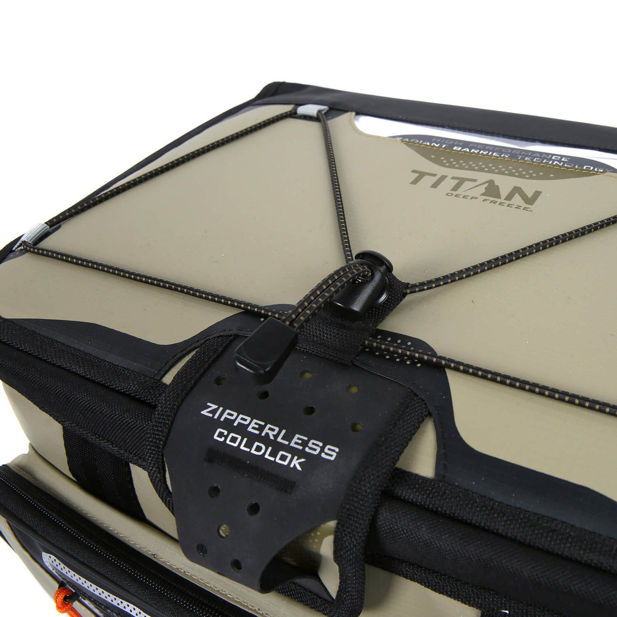 48 Can Titan Deep Freeze® Zipperless™ Cooler - Lid detail