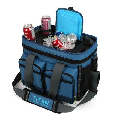 Titan Guide Series™ 36 Can Cooler - Easy Access Lid, propped