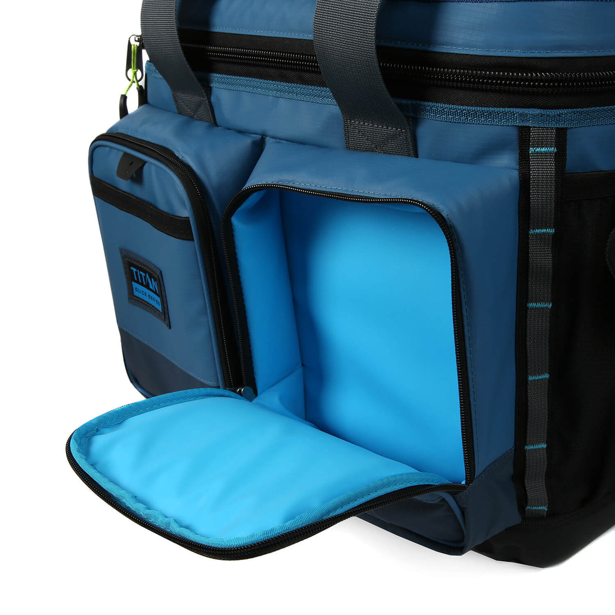 Titan Guide Series™ 36 Can Cooler - Insulated front pockets