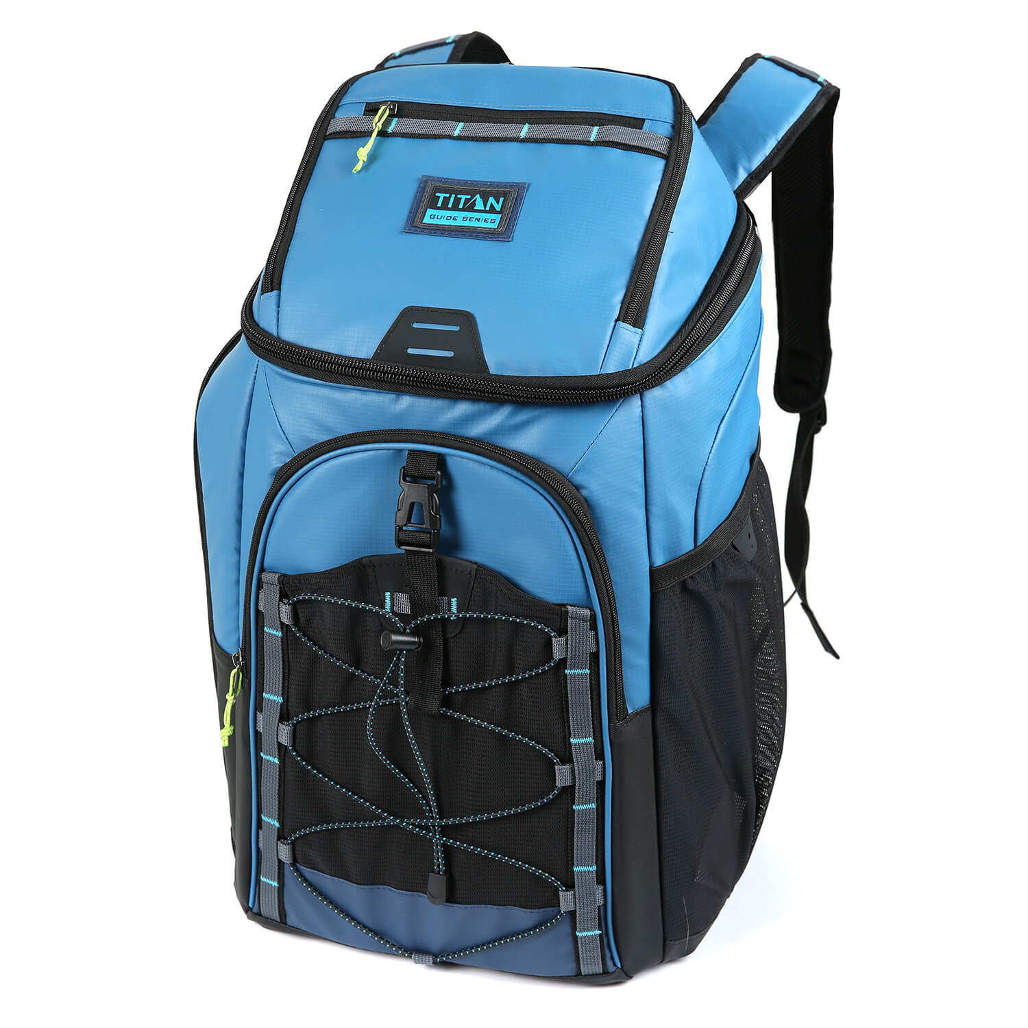 Titan Guide Series™ 30 Can Backpack Cooler - Front, closed