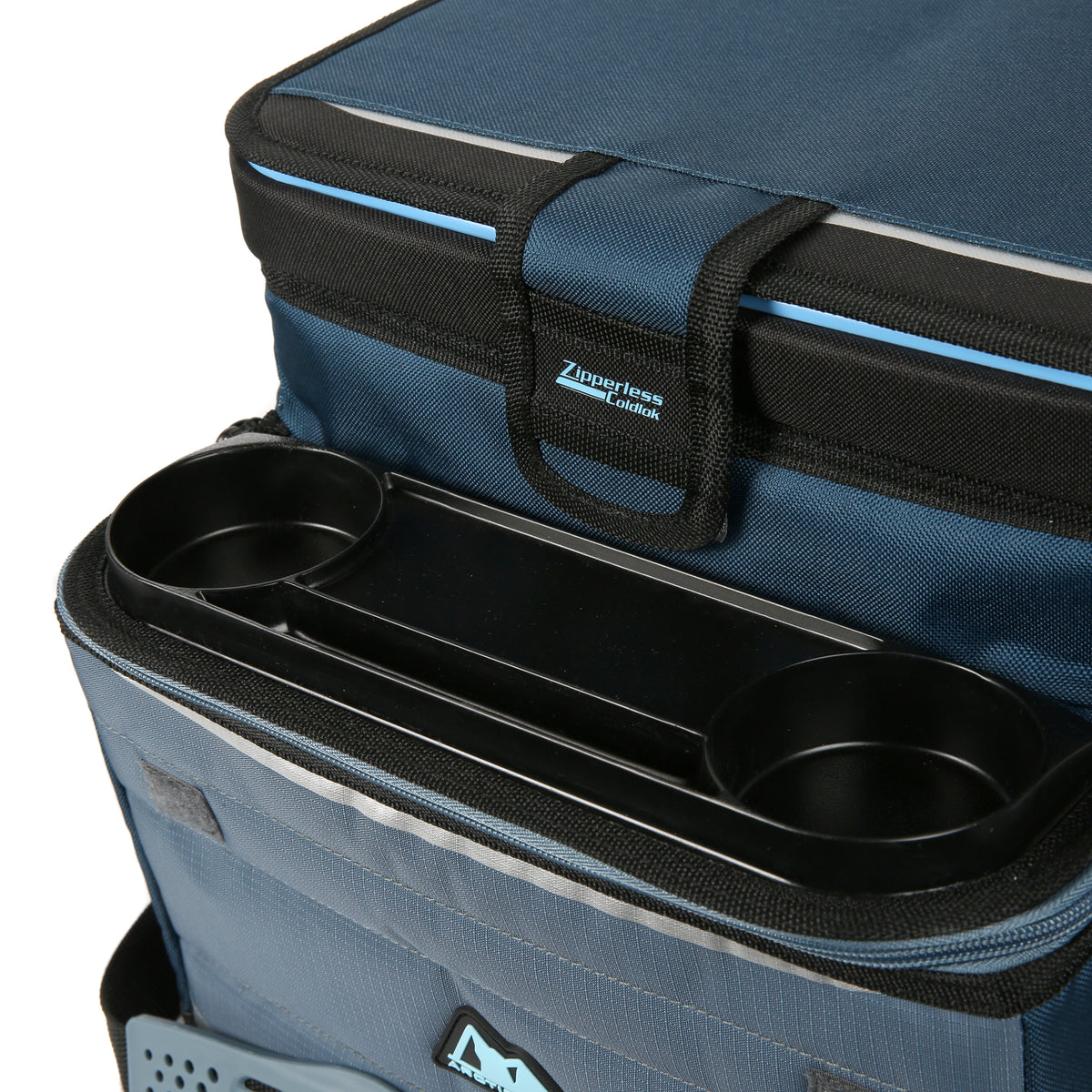 Arctic Zone® 30 (24+6) Can Ultimate Zipperless™ HardBody® Cooler - Blue - Drink carriers
