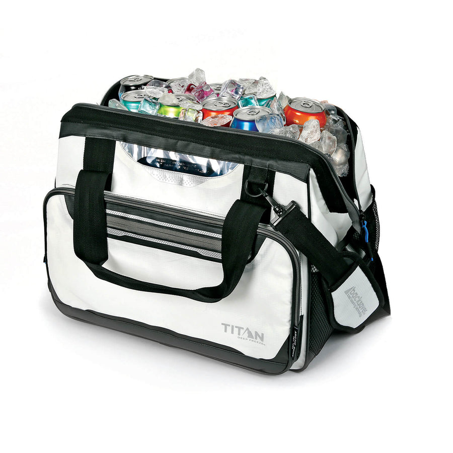 40 Can Titan Deep Freeze® Duffel - Open full