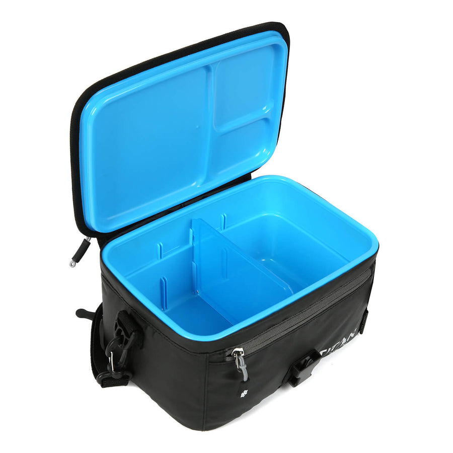 Titan Deep Freeze® Zipperless™ Lunch Box - Open, Empty