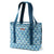 Arctic Zone® 30 Can 2-in-1 Beach Tote - Diamonds - Front, closed