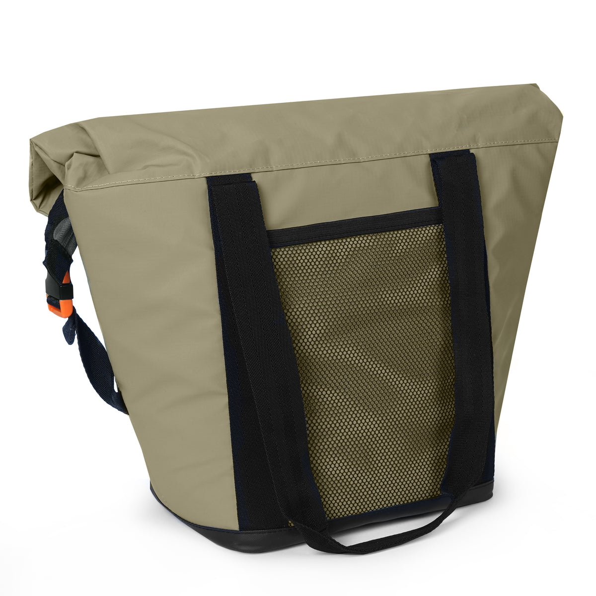 Titan Deep Freeze® 12 Can Insulated RollTop Tote - Tan - Back