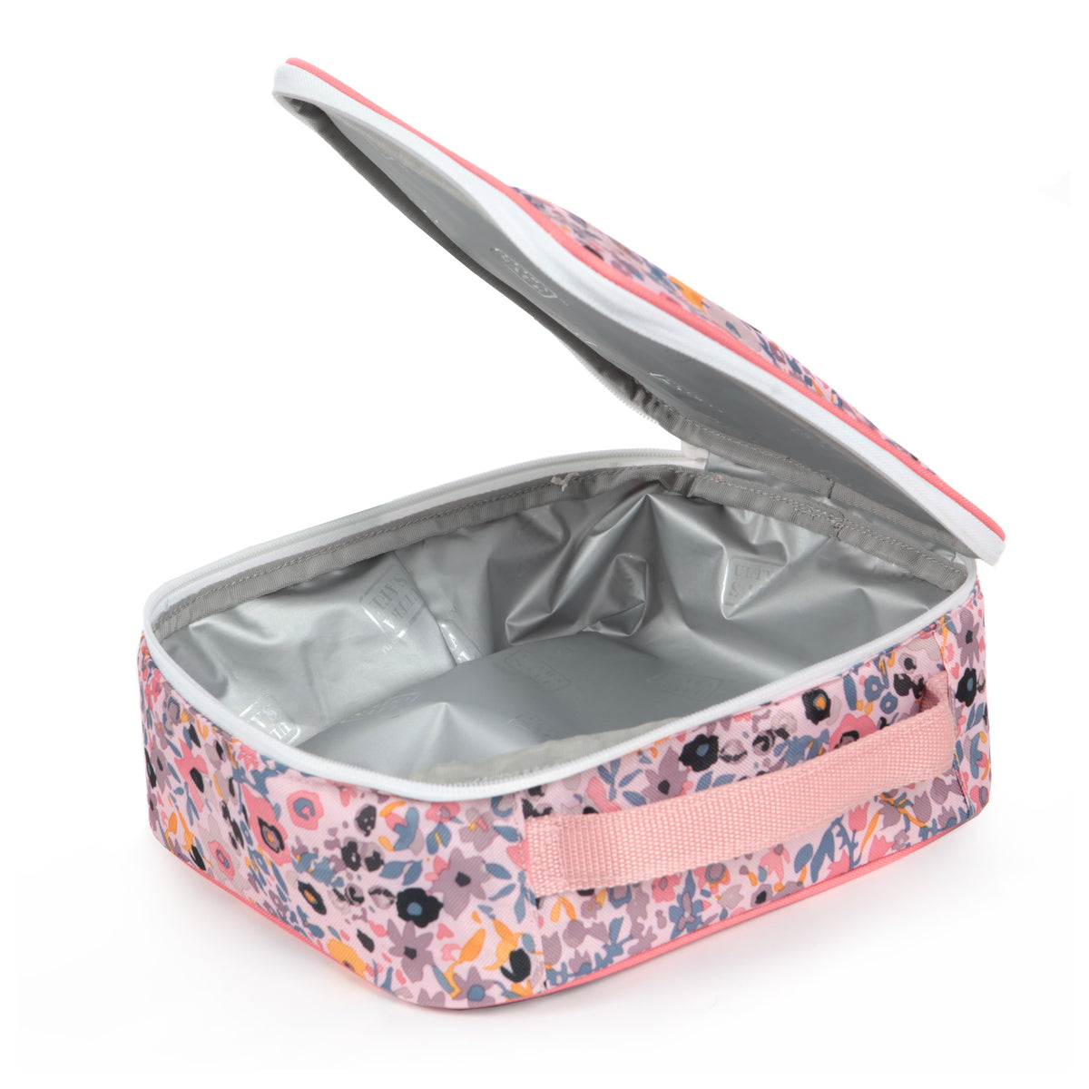 Arctic Zone® Classics Lunch Box - Floral - open empty