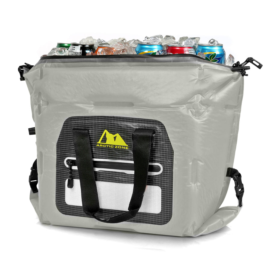30 Can Self-Inflating Air Cooler - tote
