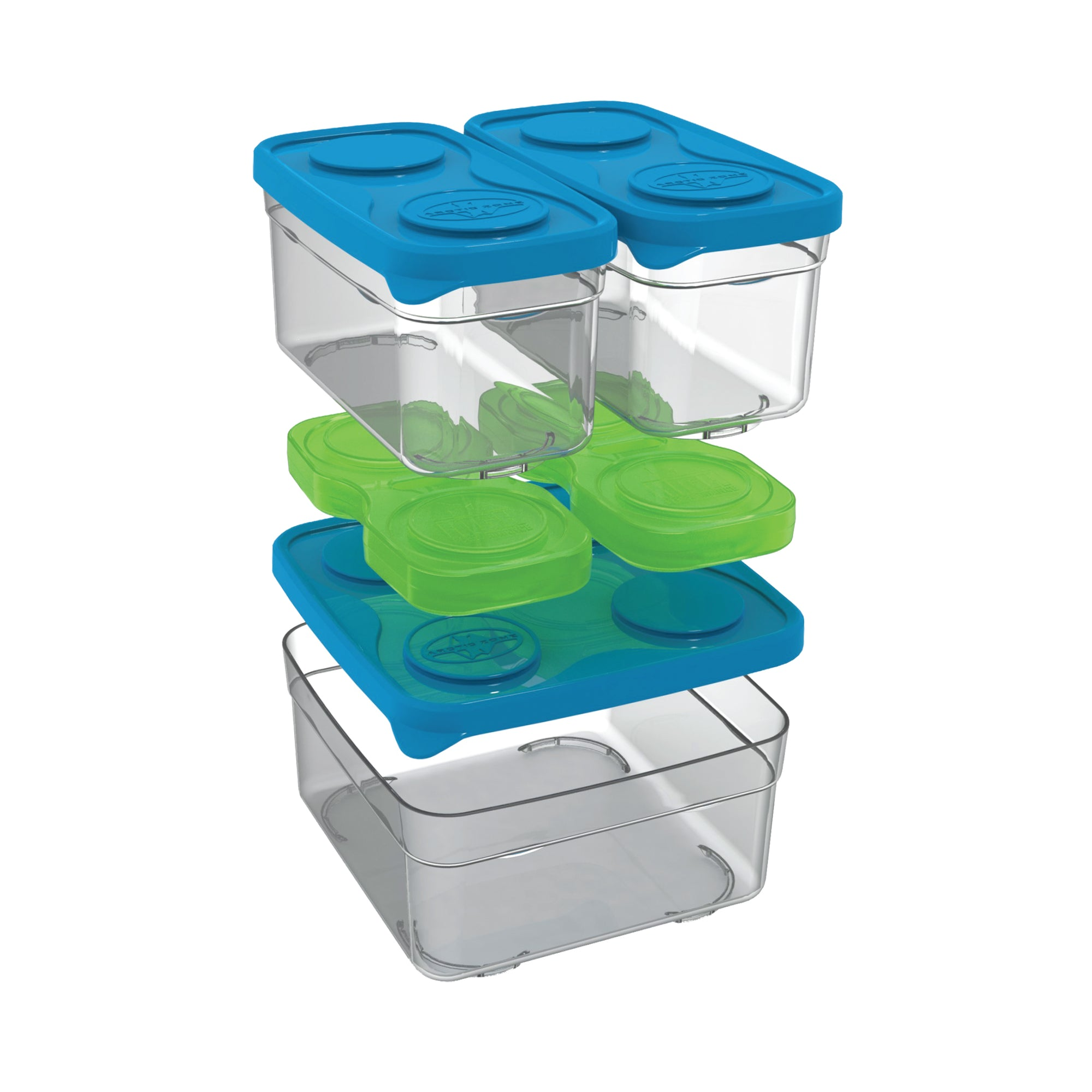 Arctic Zone® Interlockers® 8 Piece Sandwich Set
