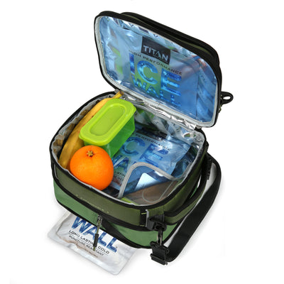 Titan X Dual Compartment Expandable Lunch Pack