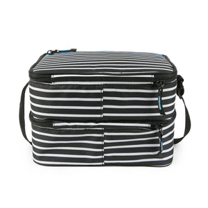 Dual Compartment Lunch Bag with 3 Ice Walls® - back