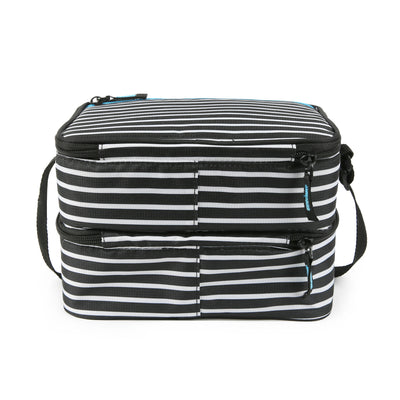 Arctic Zone® Ice Walls® Dual Compartment Lunch Pack - Classic Stripes - Back