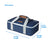 "Arctic Zone® Food Pro Thermal Carrier -Navy - Dimensions: (L x D x H) 16.50"" x 10.50"" x 4.75"""