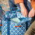 Arctic Zone® 30 Can 2-in-1 Beach Tote - Diamonds - Lifestyle, bringing snacks to the beach