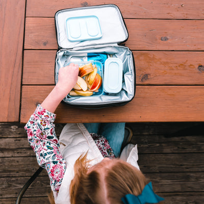 Arctic Zone Expandable Urban Lunch Pack - Rose Camo - Lifestyle, eating lunch outside at school