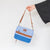Arctic Zone® Canvas Expandable - Blue - Lifestyle, carrying the lunch bag