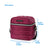 "Arctic Zone® Crossbody Quilted Lunch Pack - Red Violet - Dimensions: (L x D x H) 9.00"" x  7.00"" x 8.50"""