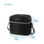 "Arctic Zone® Crossbody Quilted Lunch Pack - Black - Dimensions: (L x D x H) 9.00"" x 7.00"" x 8.50"""