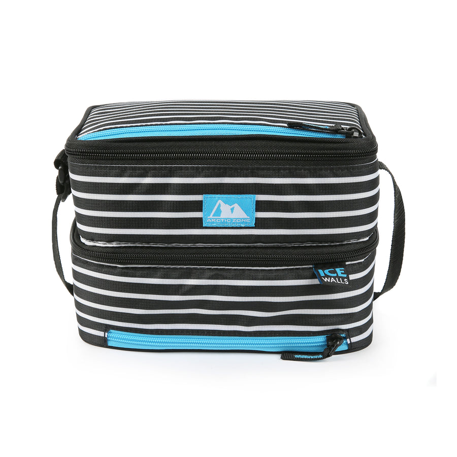 Dual Compartment Lunch Bag with 3 Ice Walls® - front