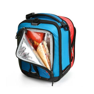 Titan X Dual Compartment Expandable Lunch Pack with 3 Ice Walls® - front pocket