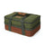 Arctic Zone® Food Pro Expandable Thermal Carrier - Green - Front, expanded, closed