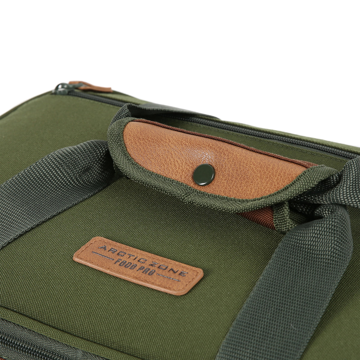 Arctic Zone® Food Pro Expandable Thermal Carrier - Green - Carry handle