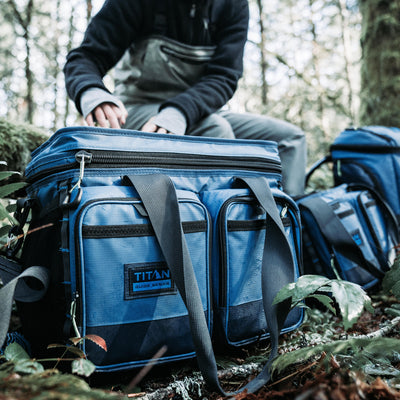 Titan Guide Series™ 36 Can Cooler - Lifestyle, Hiking break