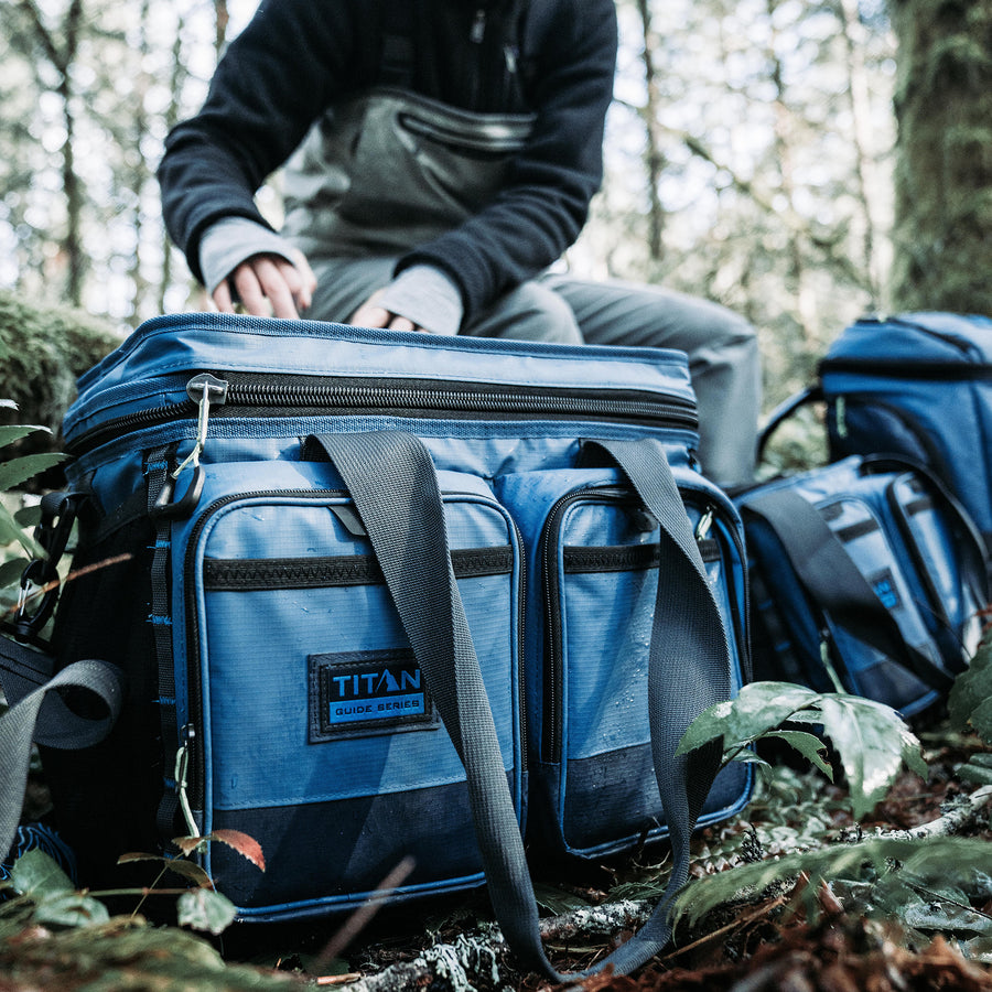 36 Can Titan Guide Series Cooler - lifestyle  hike