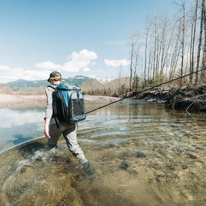 30 Can Titan Guide Series Backpack Cooler - lifestyle fishing