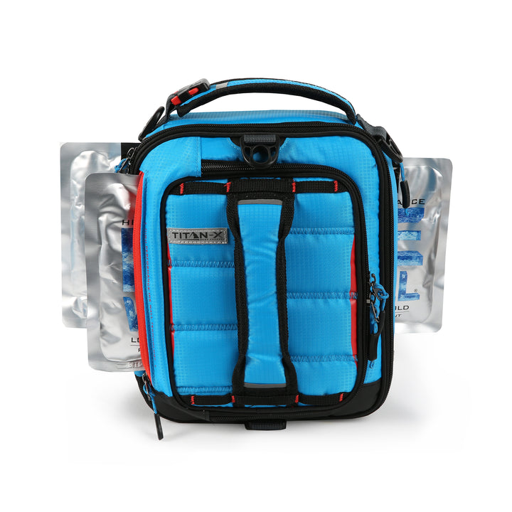 Titan X Dual Compartment Expandable Lunch Pack with 3 Ice Walls® -ice walls inserted
